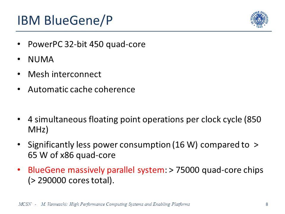 IBM Cell BE MCSN - M.
