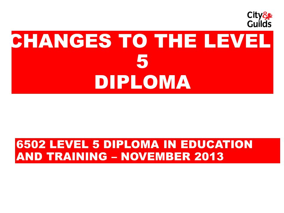 WHAT WE WILL COVER Structure of the qualifications Structure of the Level 5 Diploma Qualification requirements Mandatory and option units Staffing Observation of practice requirements