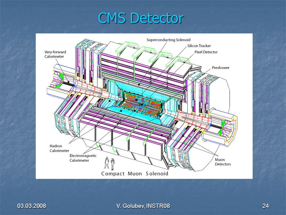 03.03.2008V. Golubev, INSTR0824 CMS Detector