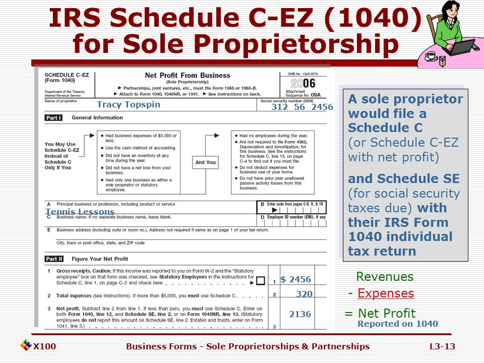 X100Business Forms - Sole Proprietorships & PartnershipsL3-12 Disadvantages of Sole Proprietorships 1.UNLIMITED personal liability  For the debts and obligations of the sole proprietorship 2.Lack of business continuity  Sole Proprietor is an 'extension' of the owner  Ceases when the owner dies or is deemed incompetent 3.Difficult to transfer ownership 4.Limited access to external funding  Funds provided by or 'guaranteed' by the owner 5.Limited management skills  Difficulty in hiring and retaining employees