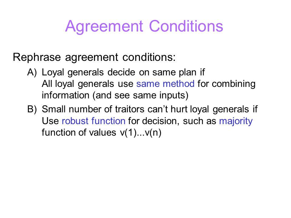Bigger Example: Bad Commander+ Scenario: m=2, n=7, traitors=C, L6 C L2 L6L3 L5L4L1 R A R A A x A,R,A,R,A ARR A A Decision??.
