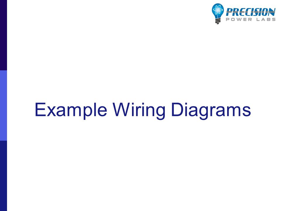 Example Wiring Diagrams
