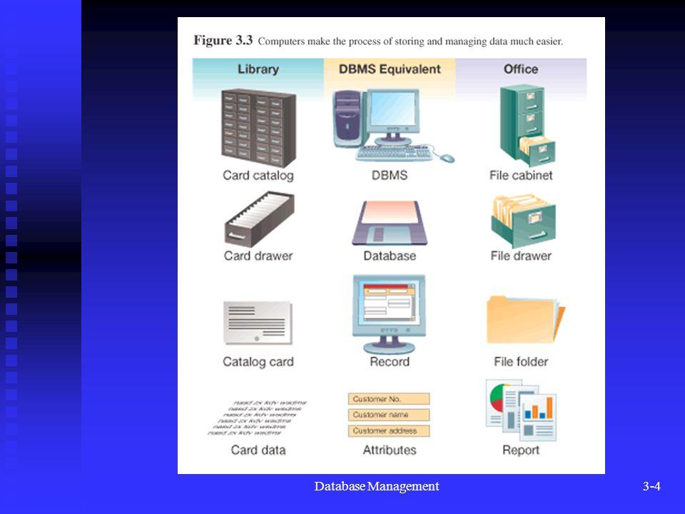 Database Management3-4