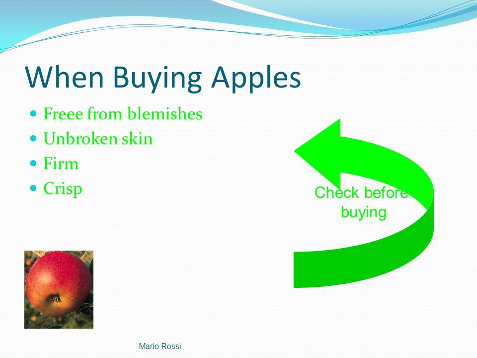 Apple Production Statistics Mario Rossi