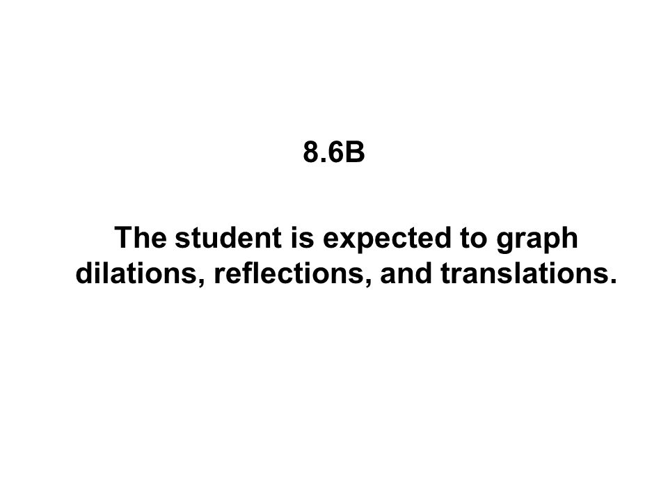 8.14A The student is expected to identify and apply mathematics to everyday experiences, to activities in and outside of school, with other disciplines, and with other mathematical topics.