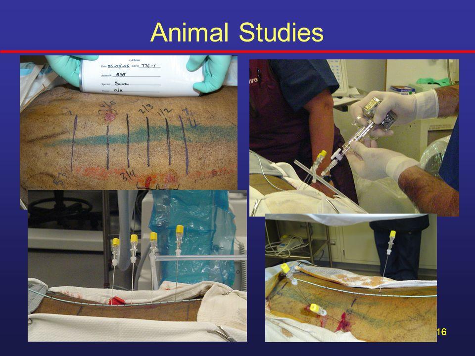 16 Animal Studies