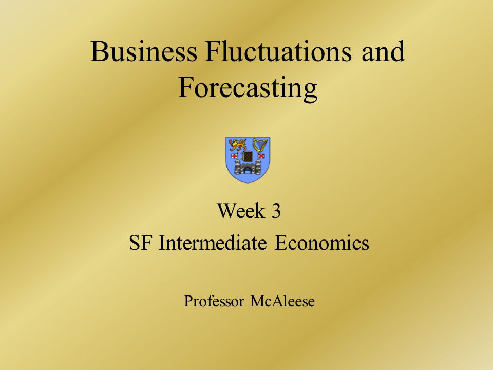 Table 1.Business fluctuations characteristics Source:M.J.