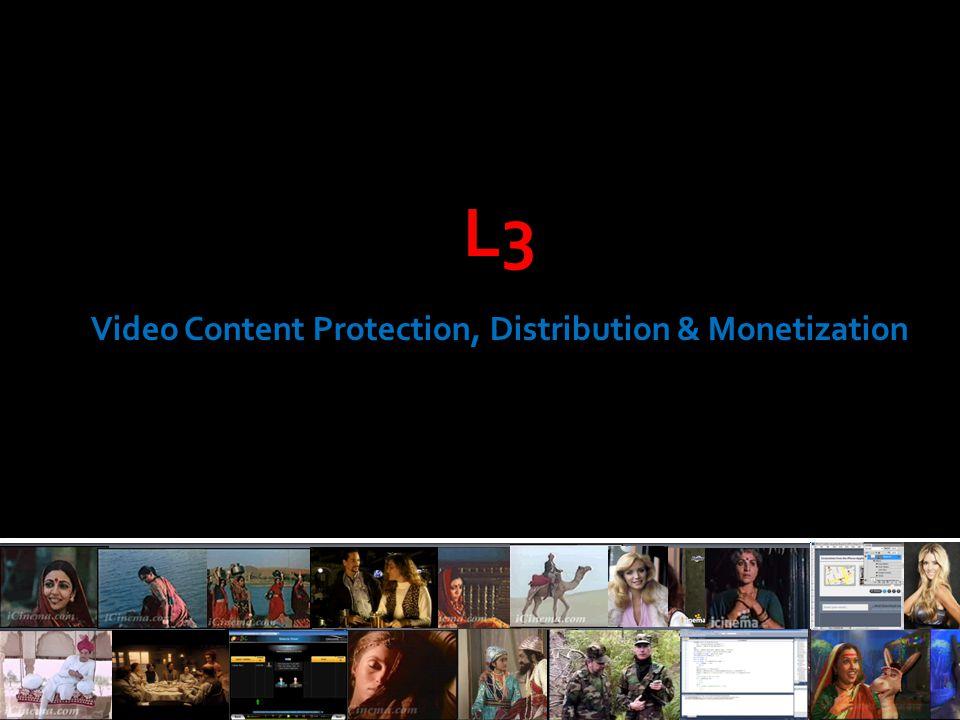 L3 Video Content Protection, Distribution & Monetization
