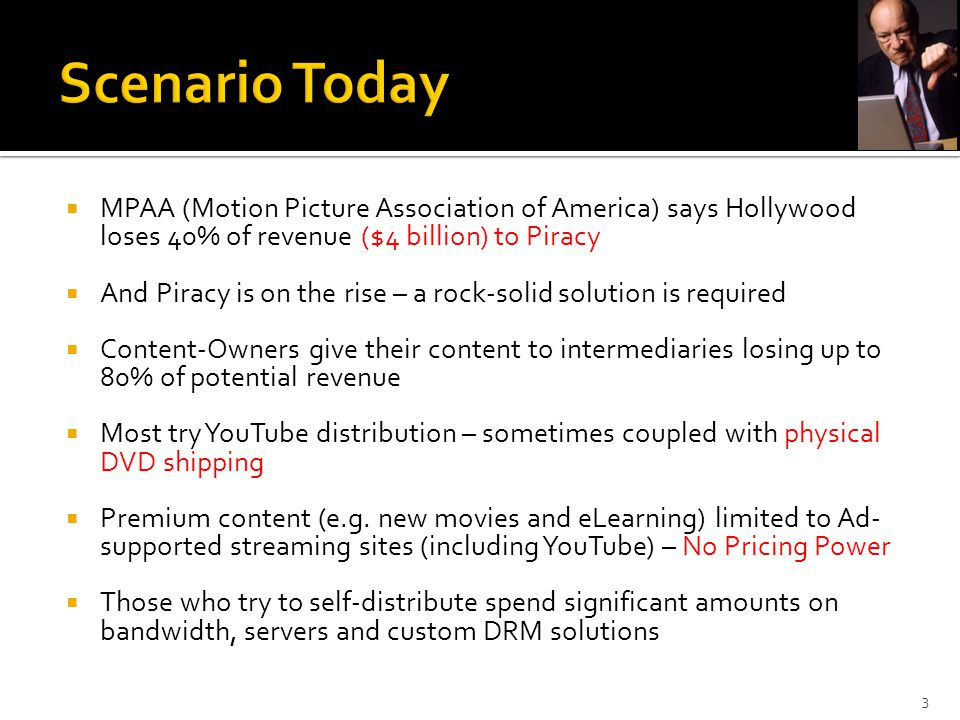  Monetize content  Extra revenue with not much incremental cost  Significantly lower risk of piracy  Global customer reach  Access established, new and uncharted geographies  A vibrant distribution channel  More efficient than all existing distribution networks  Most cost efficient  Peer to peer virally distributable  Through any media  Can also be hosted on L3 owned sites 24