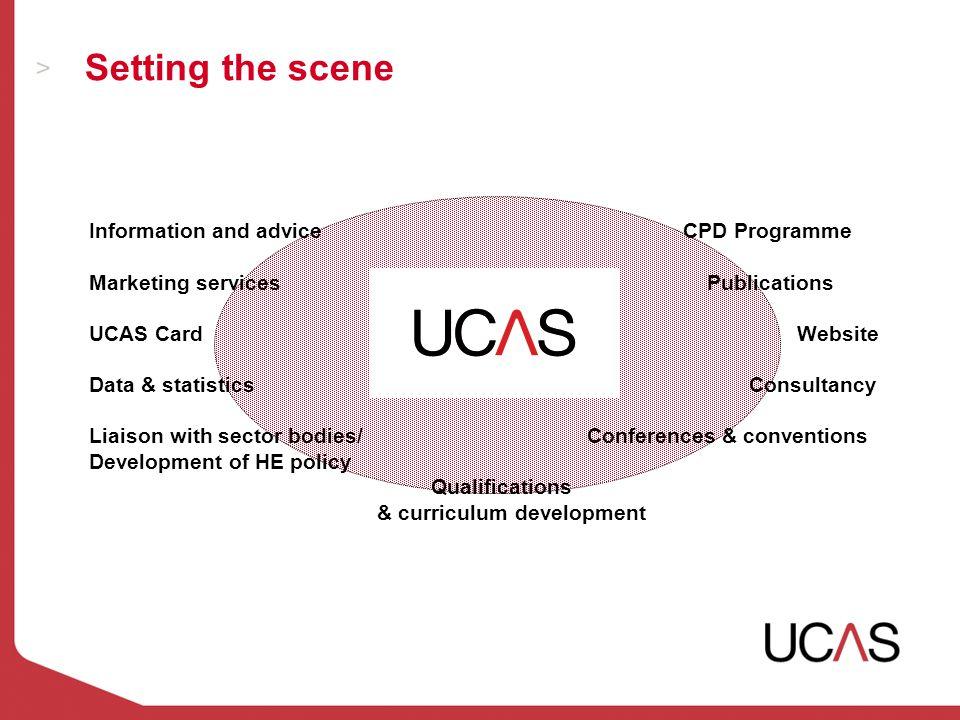 Source: UCAS Statistics Unit  Admissions levels