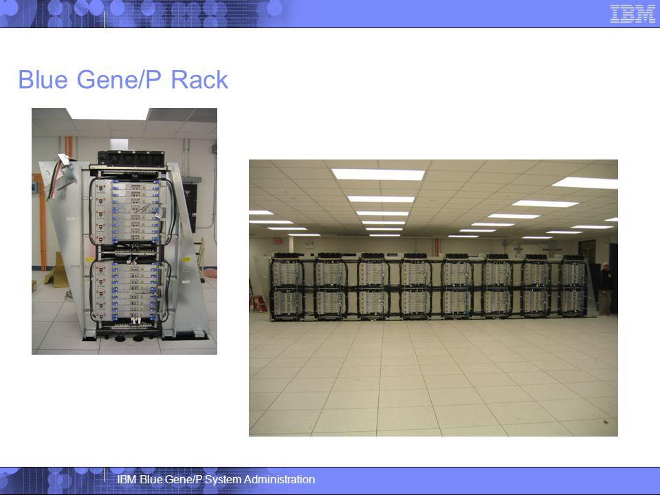 IBM Blue Gene/P System Administration Blue Gene/P Rack