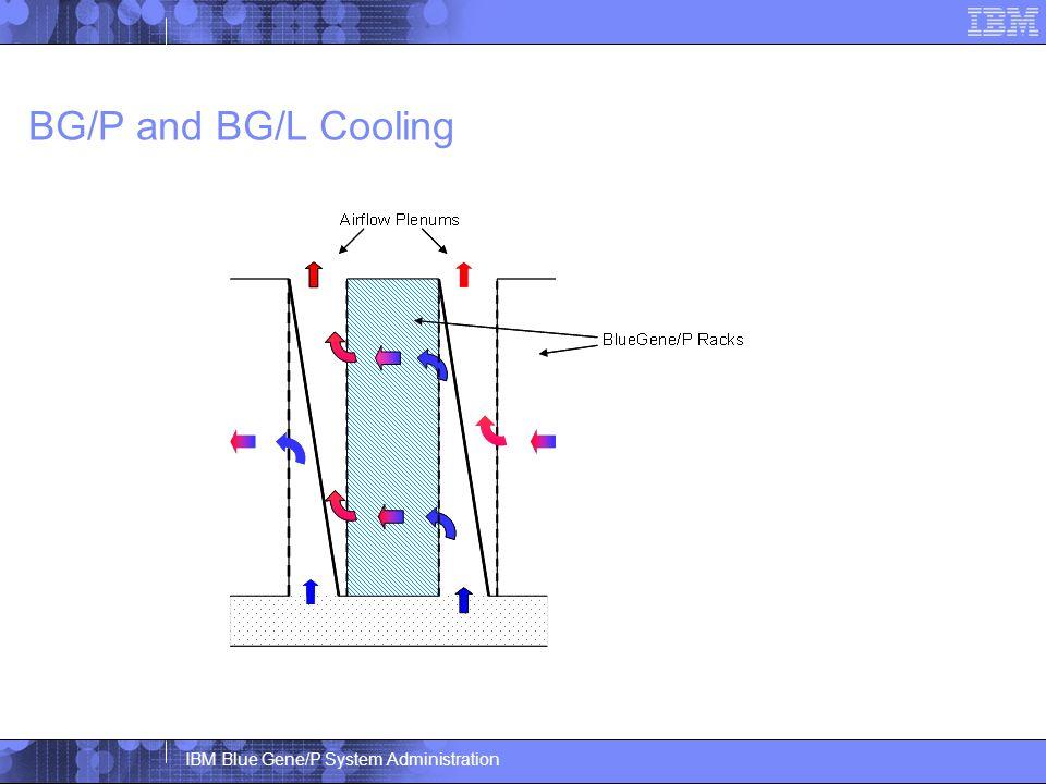 IBM Blue Gene/P System Administration BG/P and BG/L Cooling