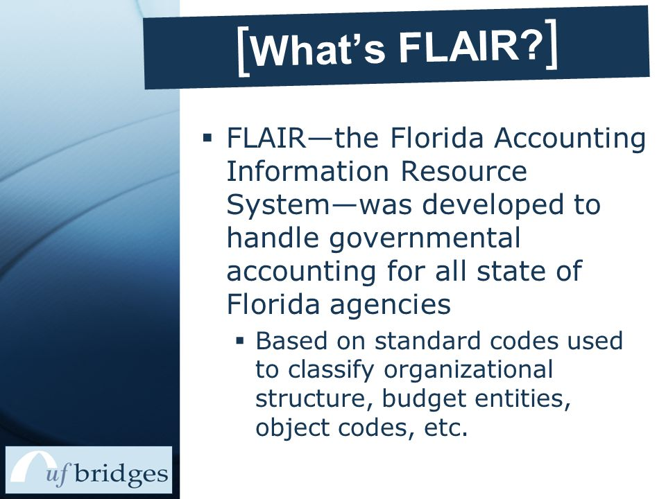[ What's FLAIR.