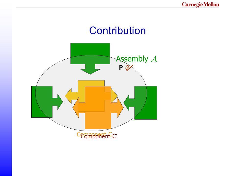 Contribution Assembly A Component C Component C' P