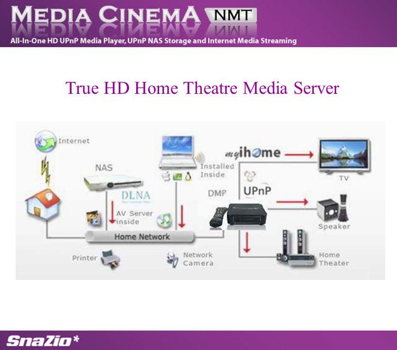 True HD Home Theatre Media Server