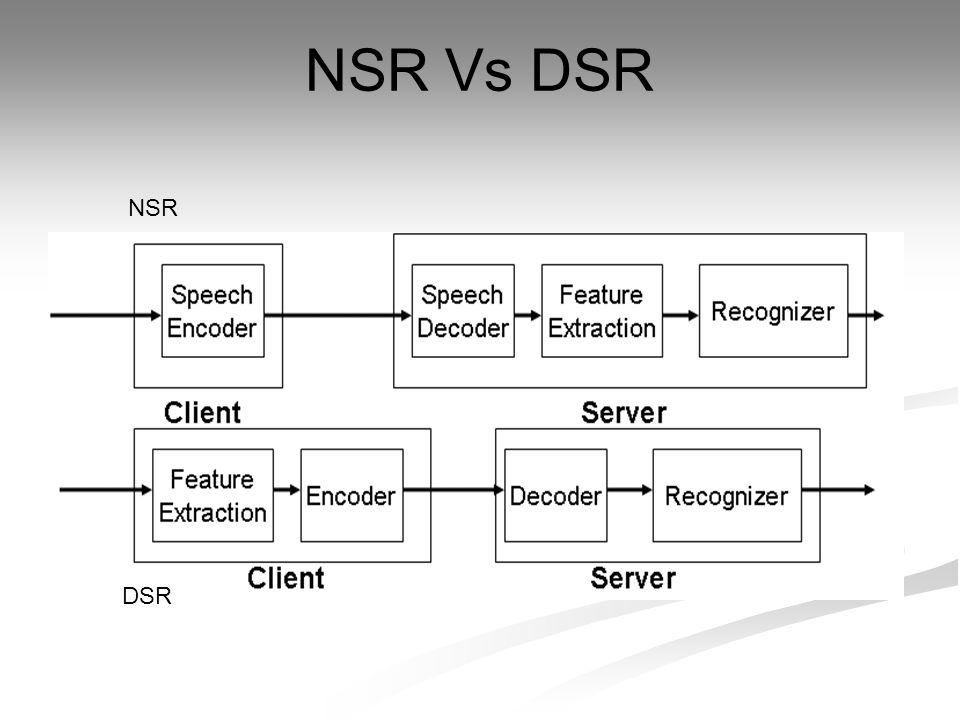 NSR Vs DSR NSR DSR