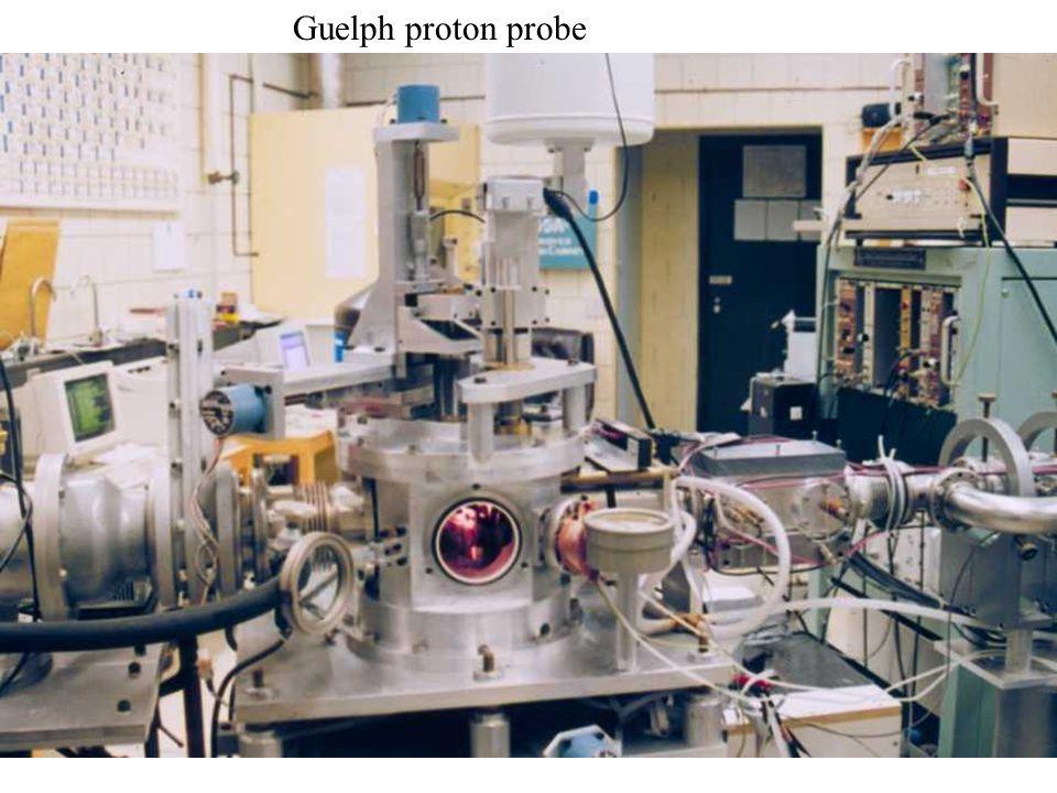 9 Guelph proton probe