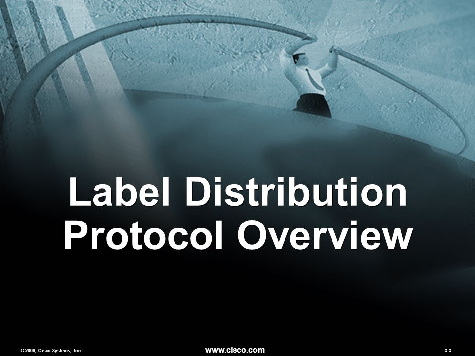 © 2000, Cisco Systems, Inc. www.cisco.com 3-3 Label Distribution Protocol Overview