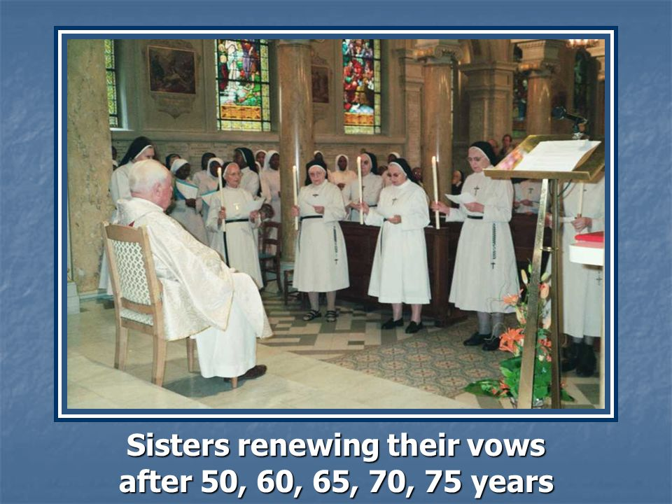 Our Younger Sisters, the Novices and Postulantes