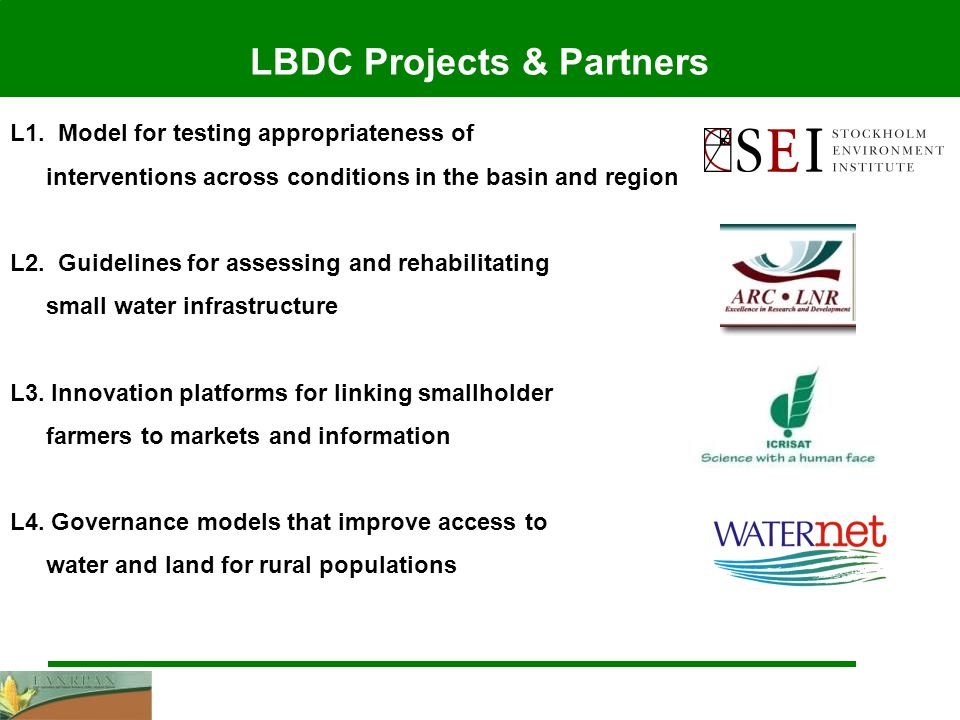 LBDC Projects & Partners L1.