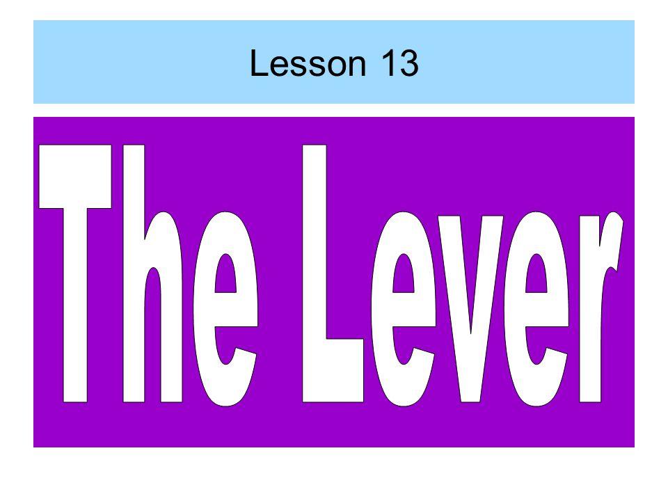 Lesson 13
