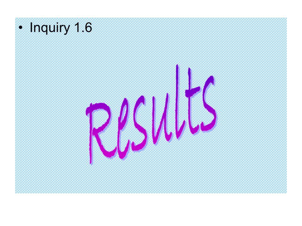 Inquiry 1.6
