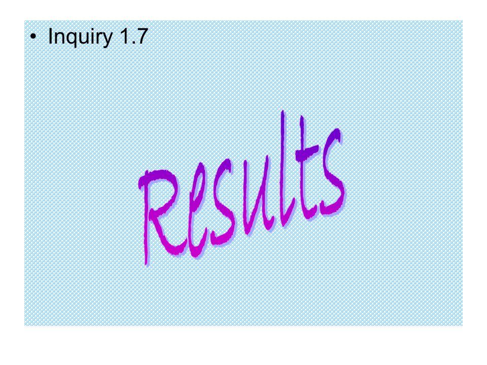 Inquiry 1.7