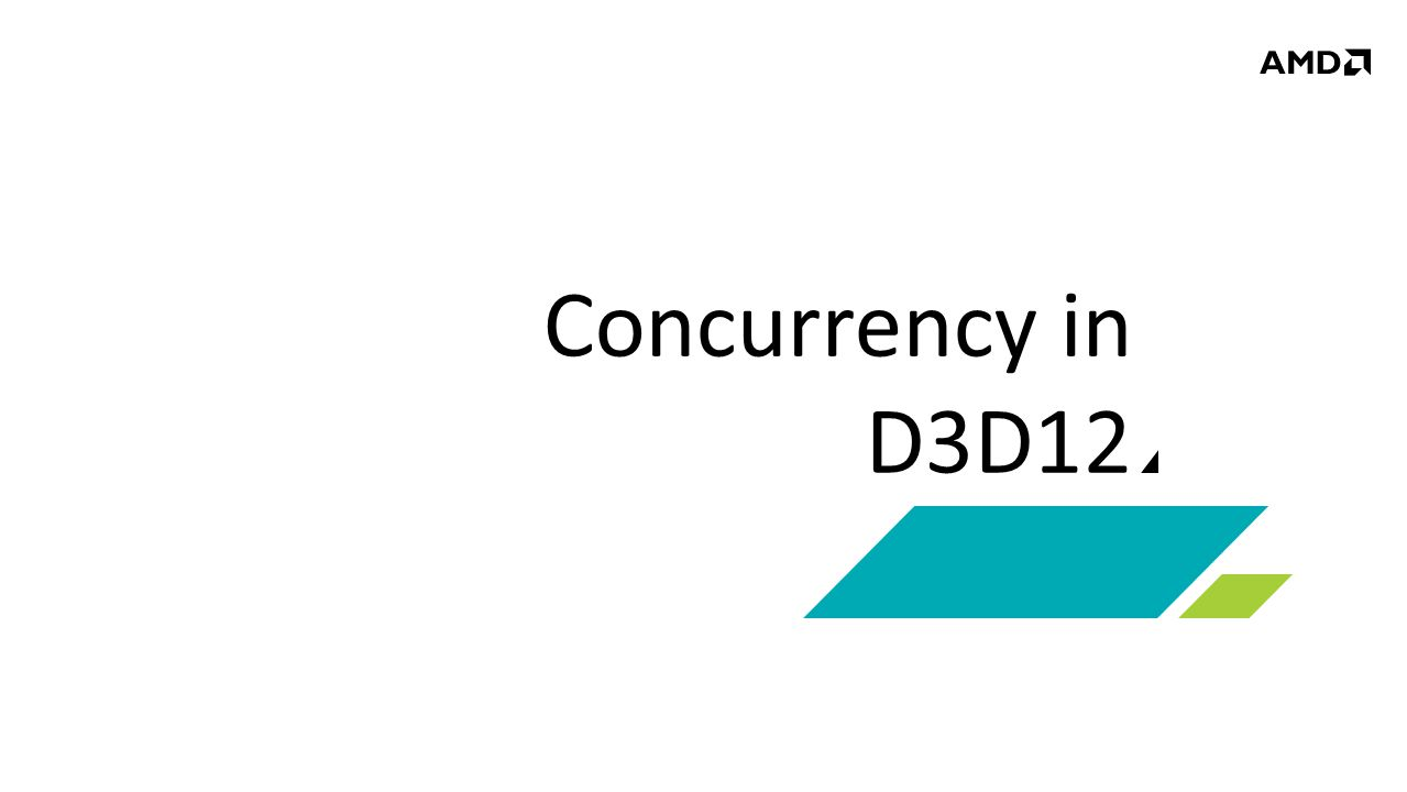 Concurrency in D3D12
