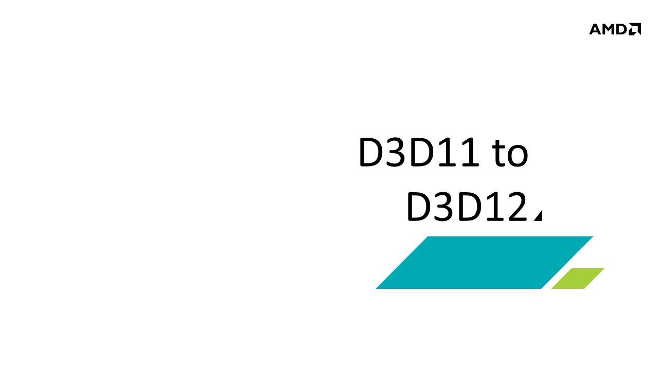 D3D11 to D3D12