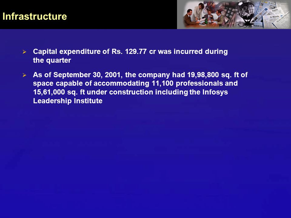  Capital expenditure of Rs.