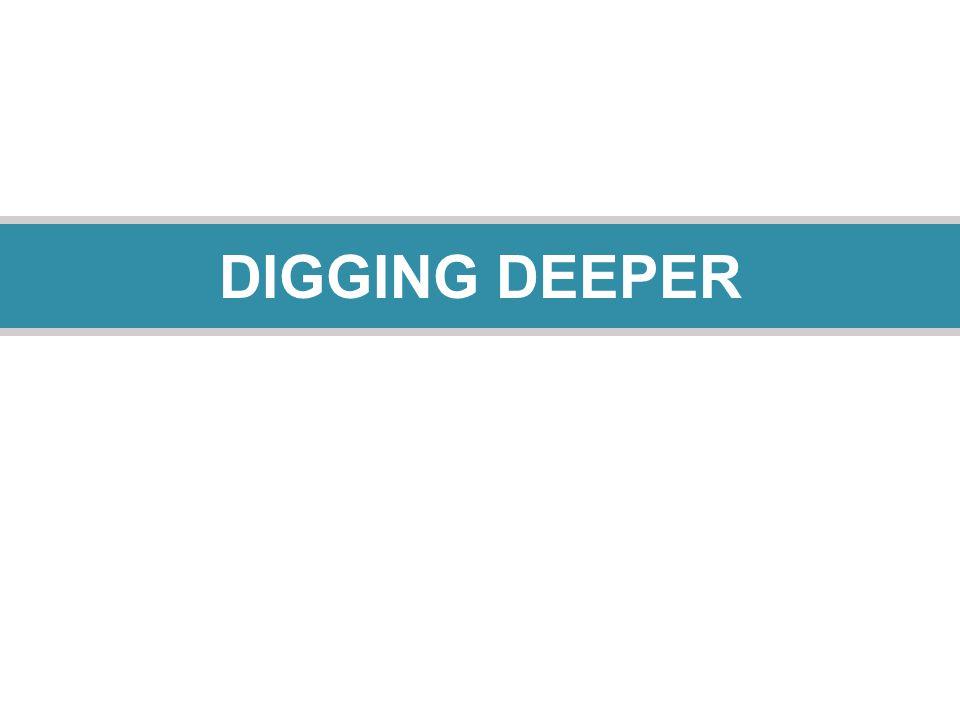 15 DIGGING DEEPER