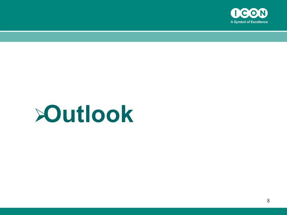 8  Outlook