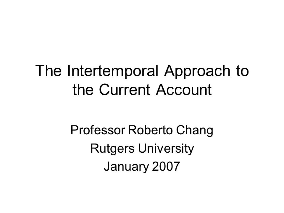 The lesson: transitory changes in income are strongly accommodated by CA surpluses or deficits; the CA is, in contrast, unresponsive to permanent income changes.