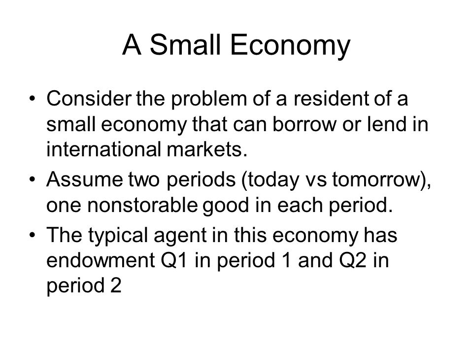 The domestic interest rate must increase so that the domestic market for loans is in equilibrium.