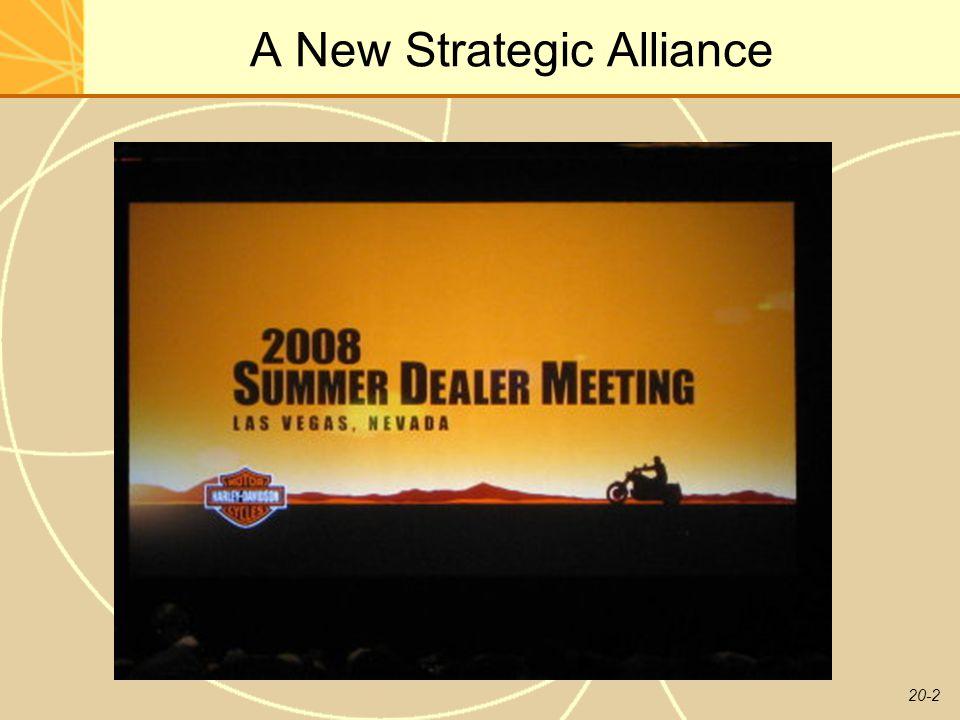 20-2 A New Strategic Alliance