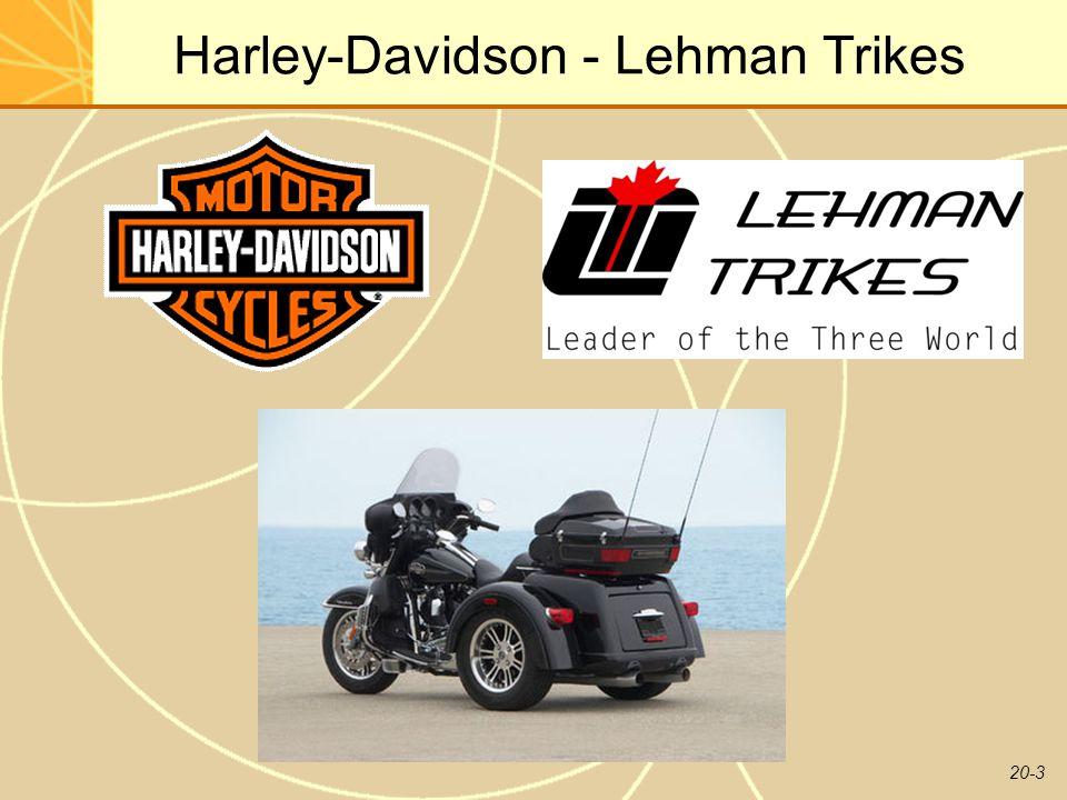 20-3 Harley-Davidson - Lehman Trikes
