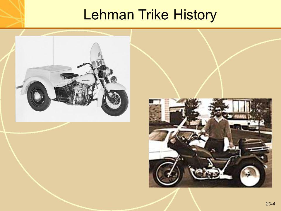 20-4 Lehman Trike History
