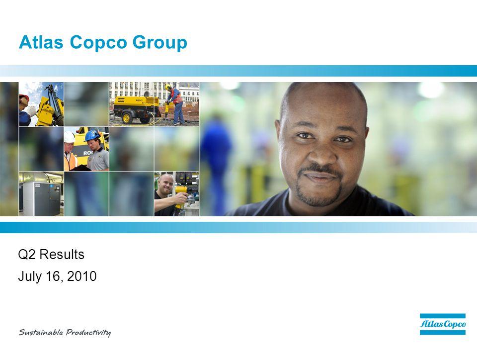 Contents  Q2 business highlights  Market development  Business areas  Financials  Outlook 12 July 16, 2010