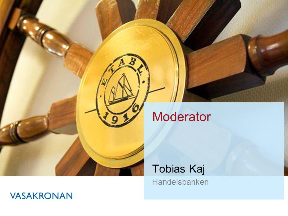Tobias Kaj Handelsbanken Moderator