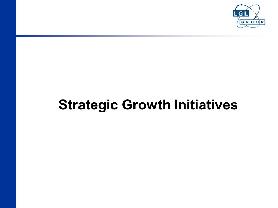 Strategic Growth Initiatives
