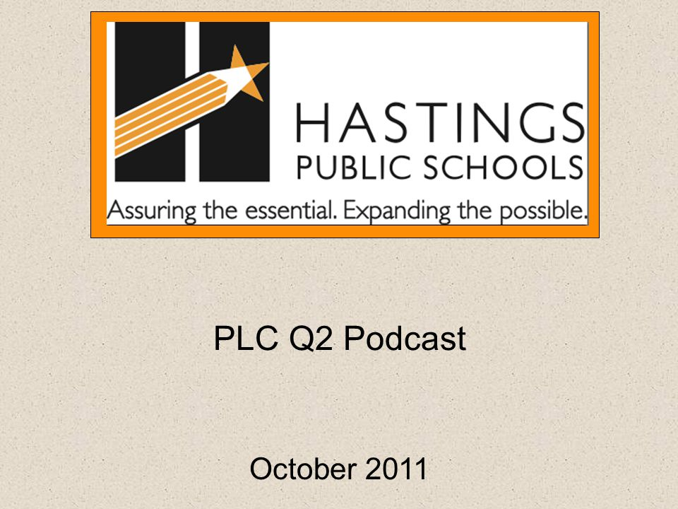 PLC Q2 Podcast October 2011