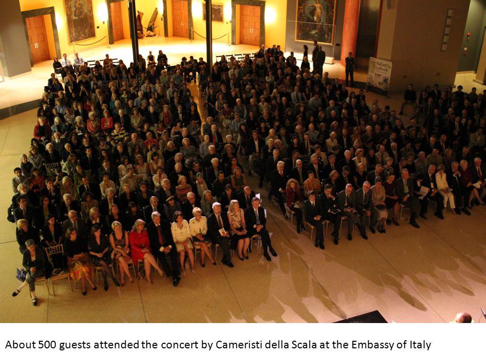 Cameristi della Scala performing The Eight Seasons with soloist Francesco Manara