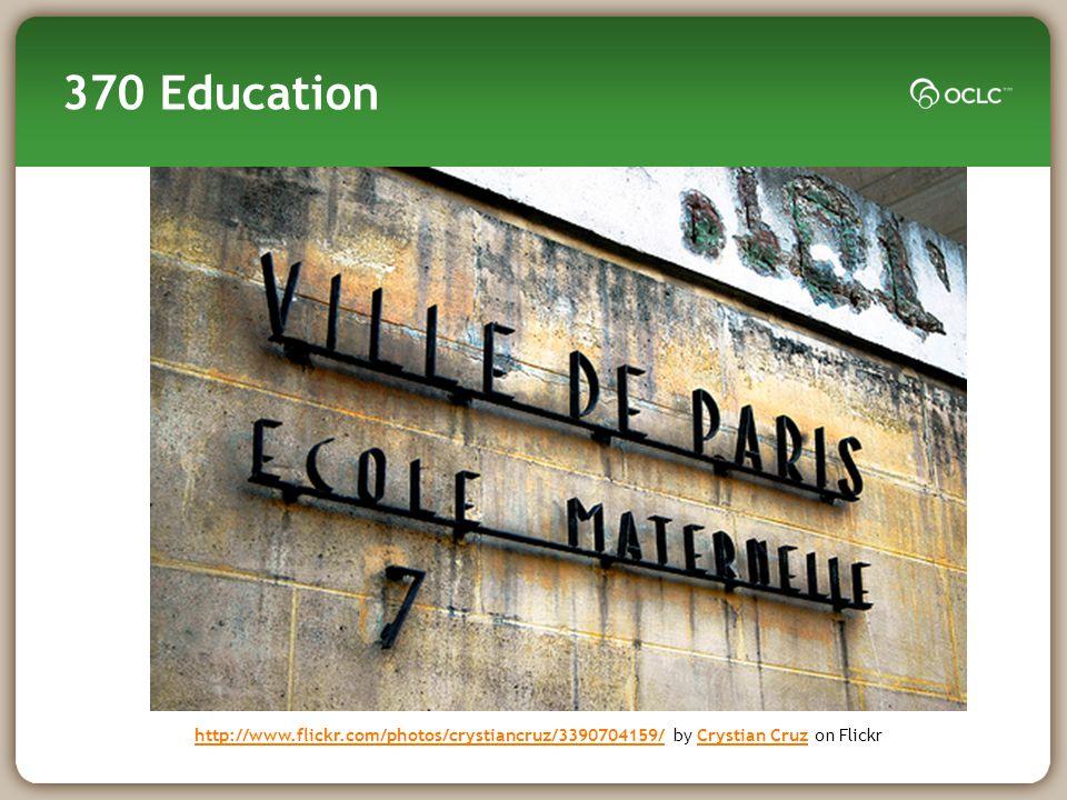 370 Education (2) (revised development) EDUG, EPC Dewey editors (discussion paper)EDUG, EPC EDUG 370 WG (report) Dewey eds, EPC Q3 2009 Q4 2009 Dewey editors Q1 2010 EDUG, Experts (discussion paper) Dewey editors (discussion paper) EDUG, EPC Q2 2010