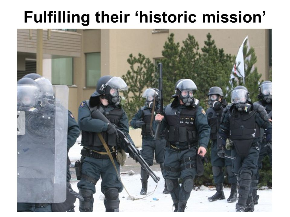 Fulfilling their 'historic mission'