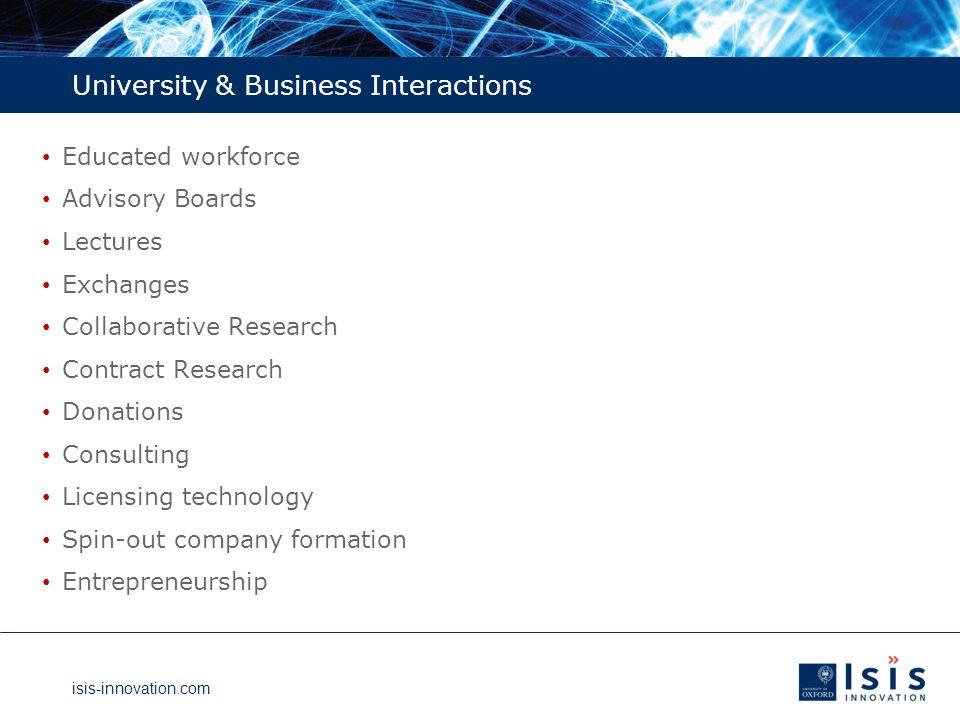 isis-innovation.com Oxford Entrepreneurs Incubation Centre