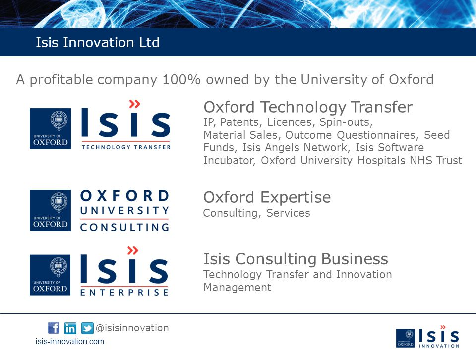 isis-innovation.com Isis Innovation, year-ending March 2013
