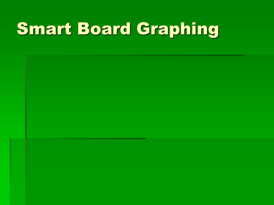 Smart Board Graphing