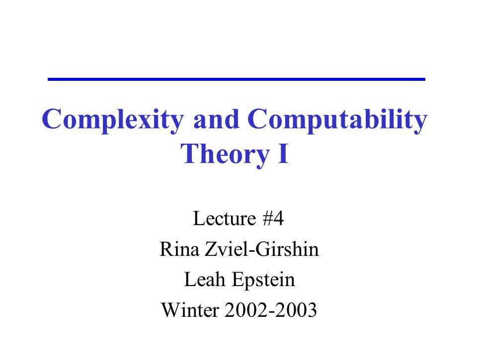 Rina Zviel-Girshin @ASC32 Example Convert a given nondeterministic finite automaton into a deterministic finite automaton.