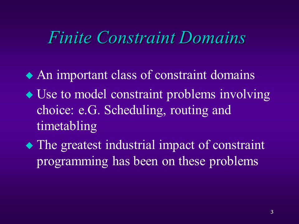 14 Partial Satisfiable u Check whether a constraint is unsatisfiable because of a prim.
