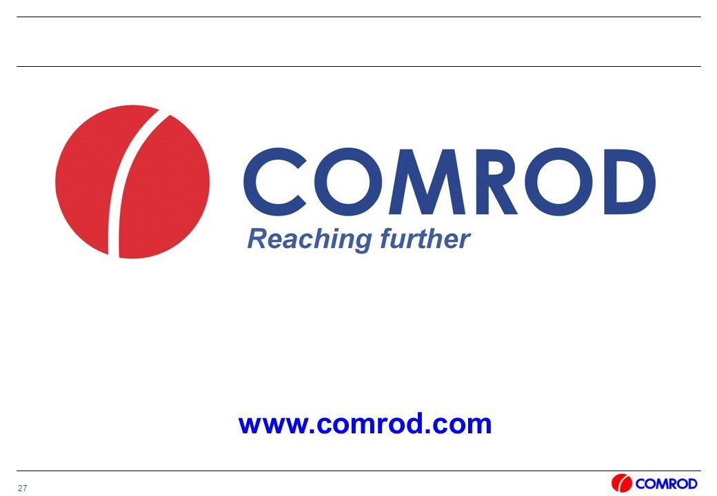 27 www.comrod.com